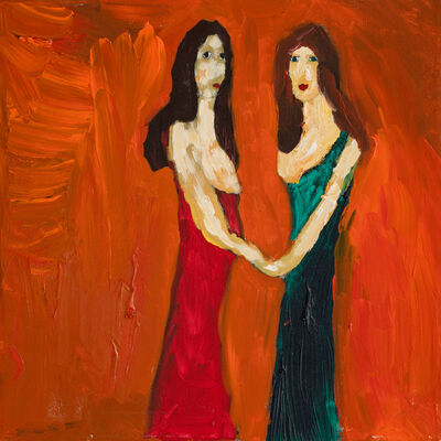 Frode Felipe Schjelderup, 'To kvinner', ca. 2015