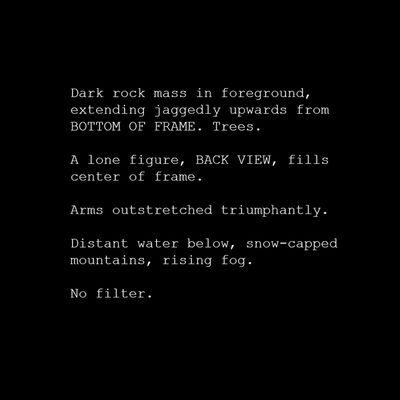 Kristin McIver, '#Wanderer (Typecast Series)', 2017