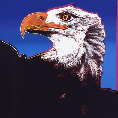 "Andy Warhol, 'Bald Eagle from ""Endangered Species"" portfolio', 1983"