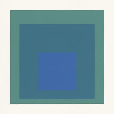 "Josef Albers, 'SP XII (from the portfolio ""SP"")', 1967"