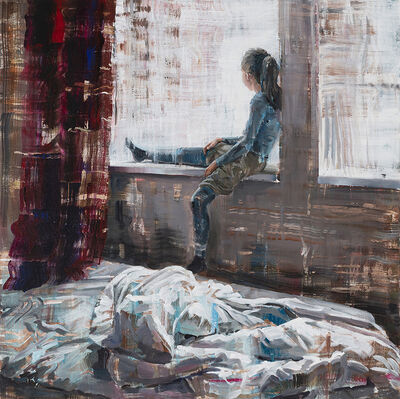 Dénesh Ghyczy, 'Unmade Bed', 2018