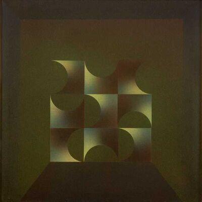 Julio Le Parc, 'Modulation 400 theme 89 a Variation ', 1980