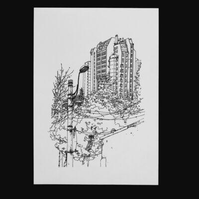 Morcky, 'Belgrade #2', 2017