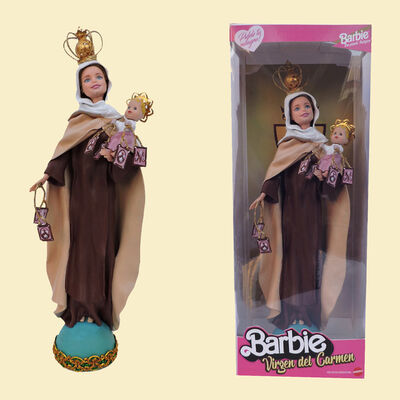 Pool y Marianela, 'Barbie: Virgen del Carmen (Our Lady of Mount Carmel)', 2019