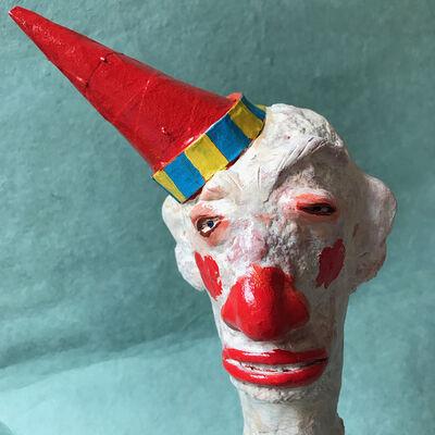 """George Thompson, '""""Clown Head 1"""" ', 2019"""