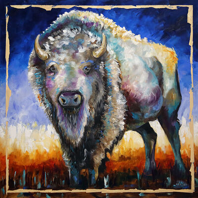 Laurie Pace, 'Buffalo White Night', 2019