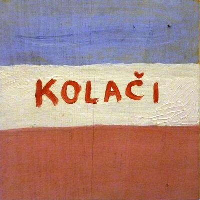 Mladen Stilinovic, 'Kolači/Cakes/Pasteles', 1983