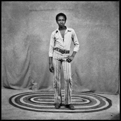 Sanlé Sory, 'Portrait au tapis', 1971