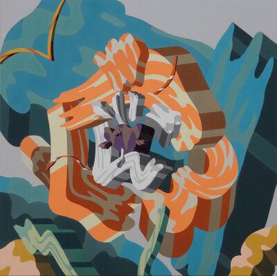 Soichi Yamaguchi, 'Overlap of paint (Flower)', 2019