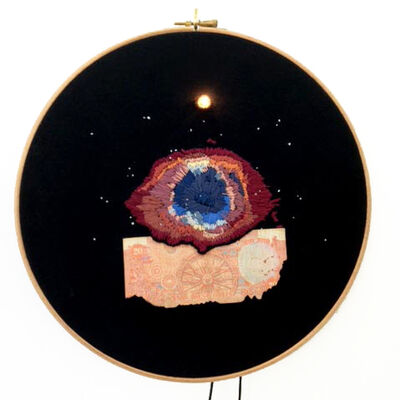 Art Orienté Objet, '#50, Helix Nebula, l'œil de Dieu / Helix Nebula, the eye of God'