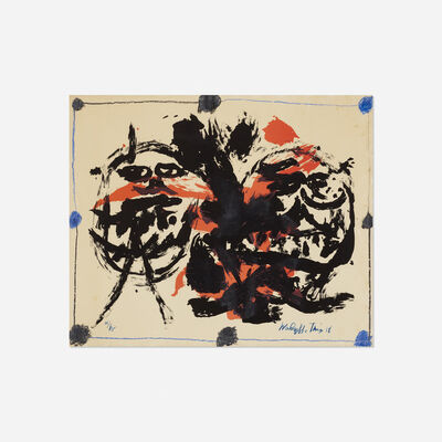Walasse Ting 丁雄泉, 'Untitled', 1958