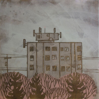 Jeff Sylvester, 'Apartment Building', 2015