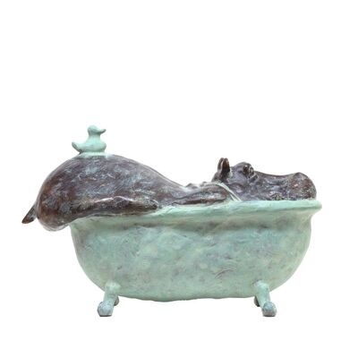 Annemarie van der Kolk, 'Hippo in Bath (Anniversary)', 2019