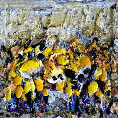 Vigintas Stankus, 'Yellow Town II', 2016