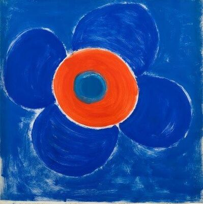 Sir Terry Frost, 'Bloom around Red', 1990