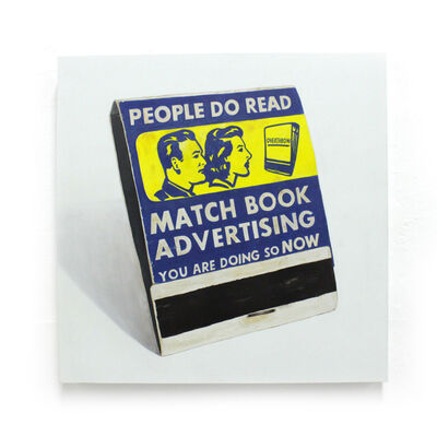 Eric Clement, 'Match book Advertising ', 2018