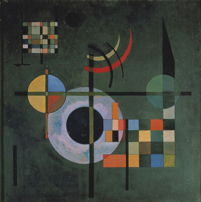 Wassily Kandinsky, 'Counter weights (Gegengewichte)', 1926
