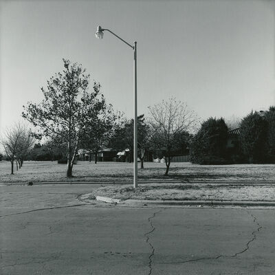 Frank Gohlke, 'Wenonah Blvd., looking west - Wichita Falls, Texas', 1972/1973