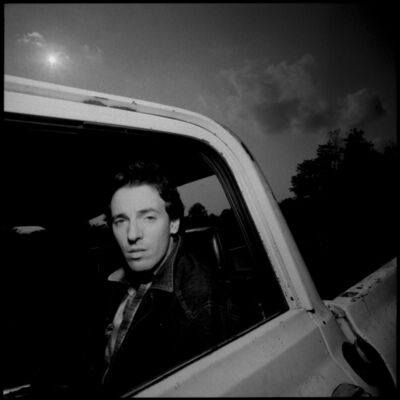 David Michael Kennedy, 'Bruce Springsteen in Truck', 1982