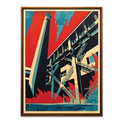 Shepard Fairey, 'Fossil Factory', 2017
