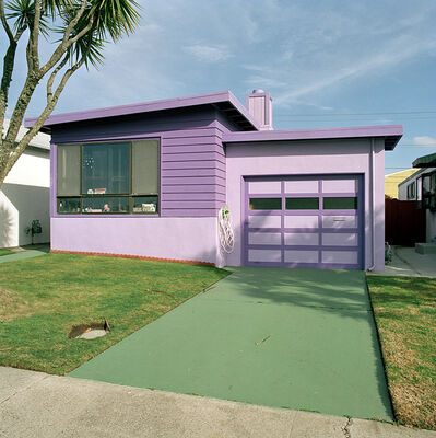 Jeff Brouws, 'Hyacinth, Daly City, California (Freshly Painted Houses)', 1991
