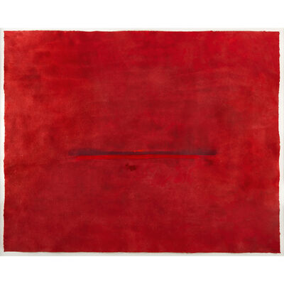 Helen Frankenthaler, 'Red Hot', 2002