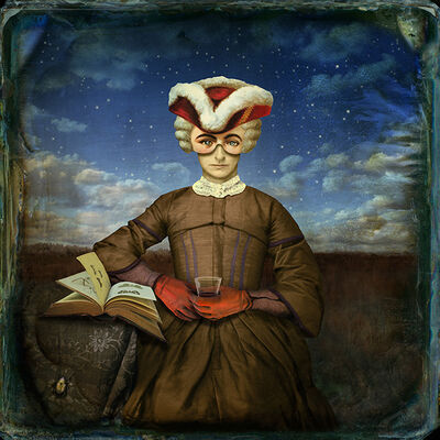 Maggie Taylor, 'A Little Night Reading', 2010
