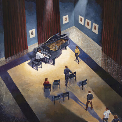 Bruce Ackerson, 'Music Room', 2019