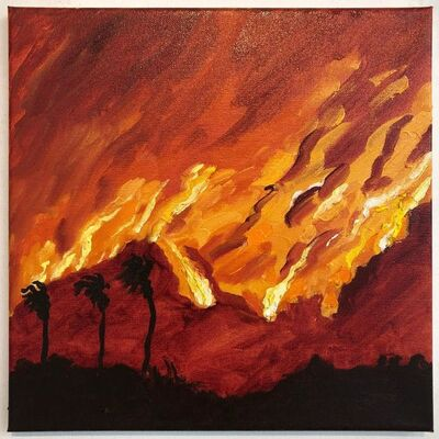 Susan Lizotte, 'Red Sunset', 2019