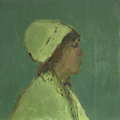 Jennifer Hornyak, 'Cheveaux marron avec tuque', 2021