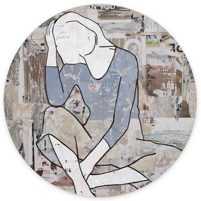 Jane Maxwell, 'Seated Girl (tondo)', 2020