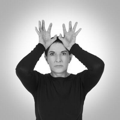 Marina Abramović, 'Hands as Energy Receivers', 2014