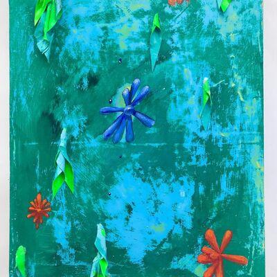Julon Pinkston, 'Prelude to the Garden of the Ephemeris', 2020