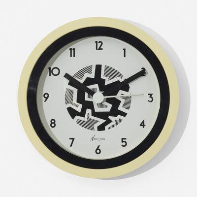 Nathalie Du Pasquier, 'Neos wall clock', c. 1988