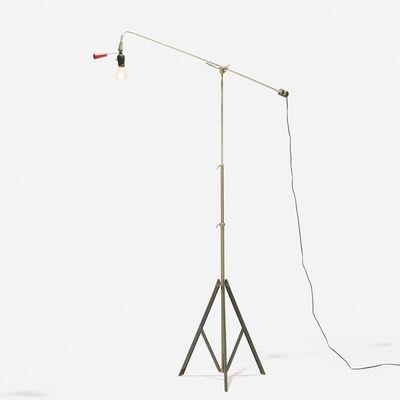 Roland Smith, 'adjustable floor lamp', 1946