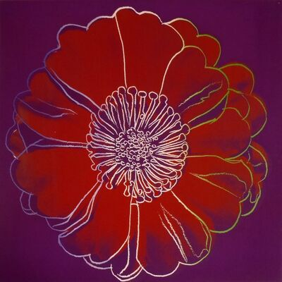 Andy Warhol, 'Flower for Tacoma Dome, CA ', 1982