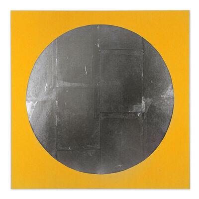 Chad Kouri, 'Reflection Pool Yellow (4x4)', 2021