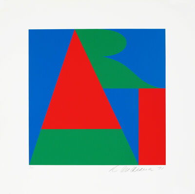 Robert Indiana, 'The Bowery ART, On The Bowery', 1971