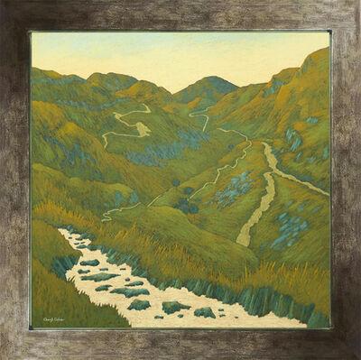 Cheryl Culver, 'Mountain Stream, Tracks and Trails', 2019
