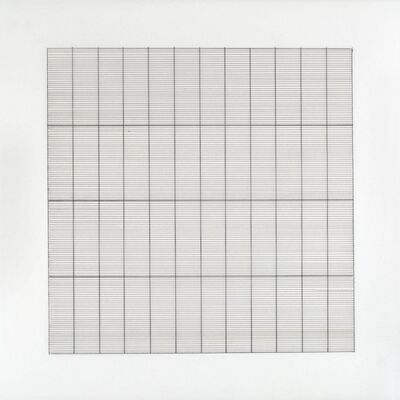 Agnes Martin, 'Untitled #4 (from Stedelijk Museum), 1990', 1990