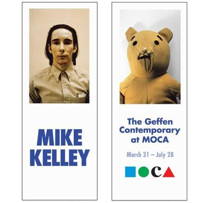 "Mike Kelley, 'Rare Mike Kelley MOCA Museum Exhibition Used and Professionally Cleaned Double Sided Street Banner ""Golden Bear""', 2014"