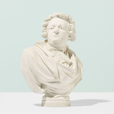 Sevres, 'Bust of Honore Gabriel Riqueti, Count of Mirabeau'