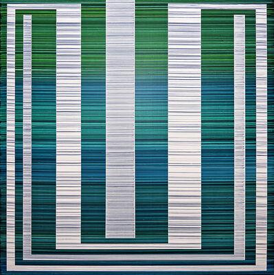 Erik Spehn, 'Bandwidth Painting (Nixy)', 2019