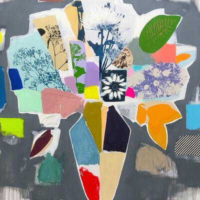 Emily Filler, 'Bouquet (Wildflowers + Colour Block) II', 2020