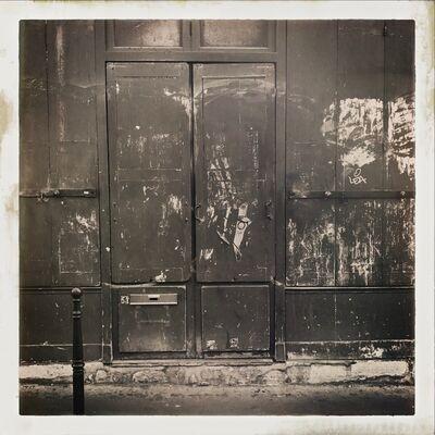 John Lawler, 'Doorway, Rue Charlot, Paris', 2017