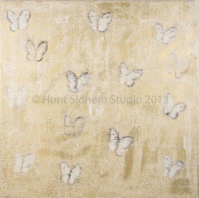Hunt Slonem, 'Ascension in White ', 2013