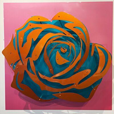 Michael Kalish, 'Candy Chrome Rose IV ', 2017