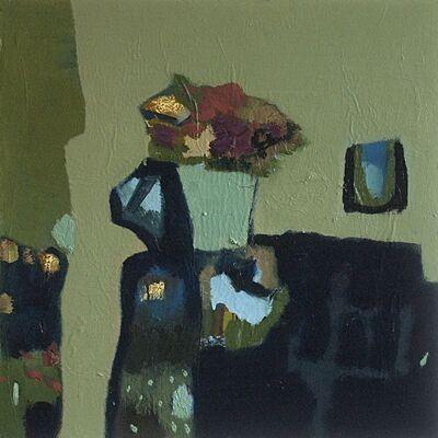 Jennifer Hornyak, 'Flowers with Sage Green', 2015
