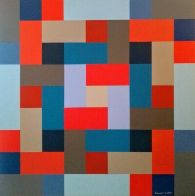 Salvador E. Jr., 'Colorindo em tempos insanos', 2019