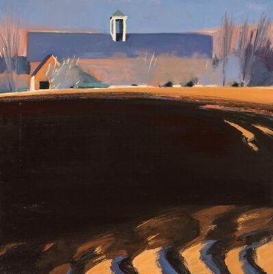 Eric Aho, 'Black Soil, Blue Barn'